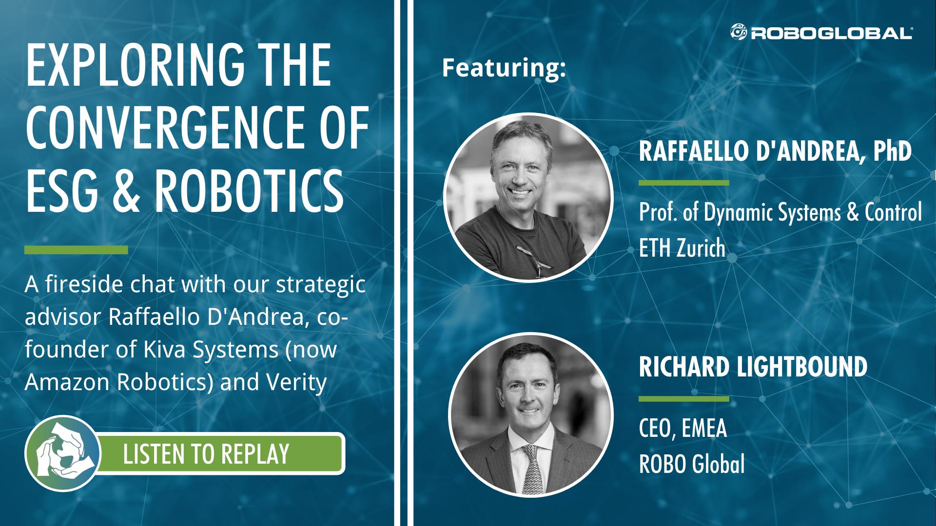 The Convergence of ESG & Robotics Webinar
