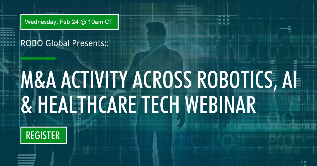 M&A Activity Across Robotics, Automation, AI & Health Tech