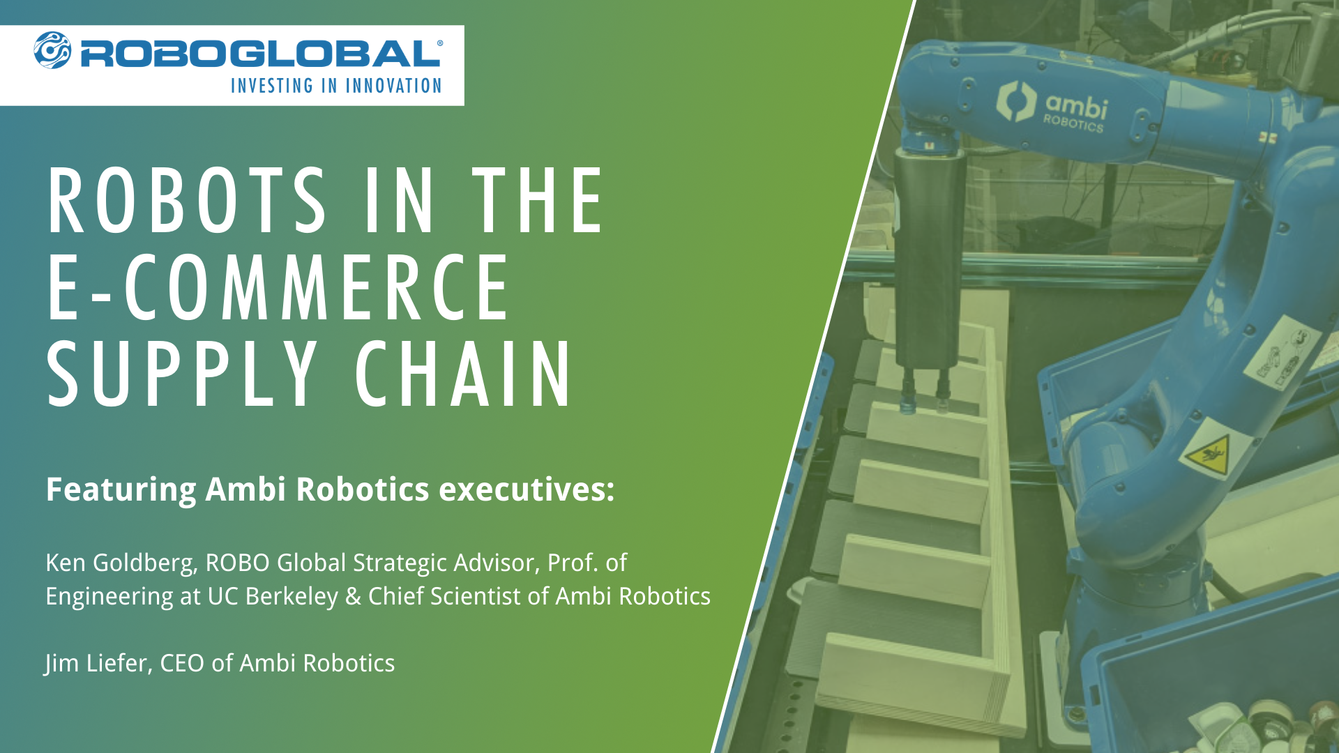 Robots in the E-Commerce Supply Chain
