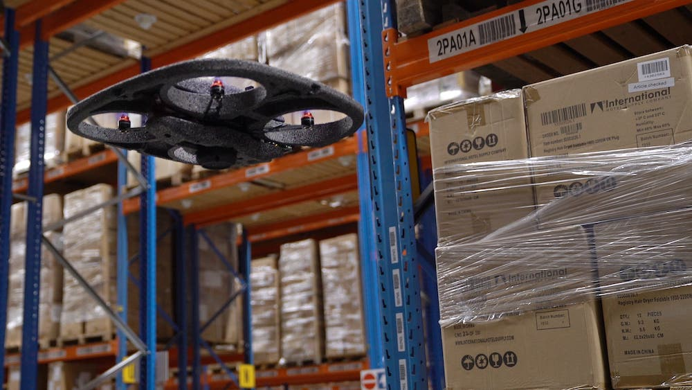 How Indoor Drone Systems in Warehouses Can Help Reduce CO2 Emissions