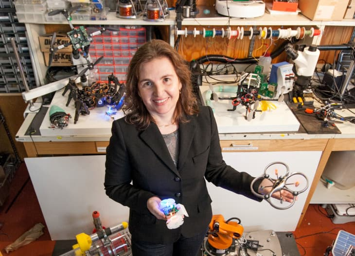 MIT's Daniela Rus is paving the road less traveled